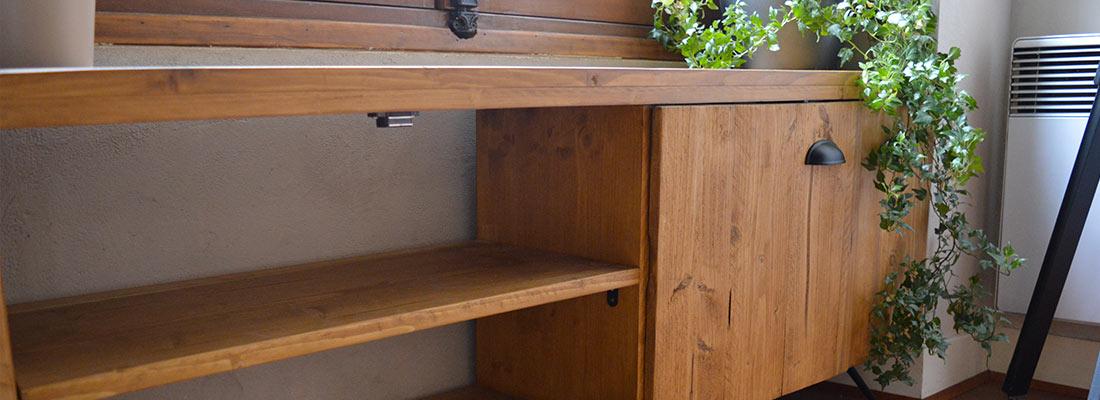 Réalisation d'un meuble banc